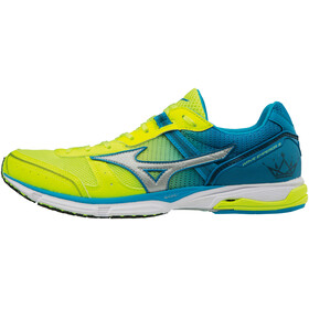 Mizuno Wave Emperor 3 Running Shoes Men safetyyellow/black/blue